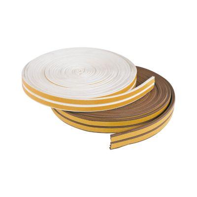 Burlete Adhesivo Perfil E Blanco 11.90mX9mmX4mm