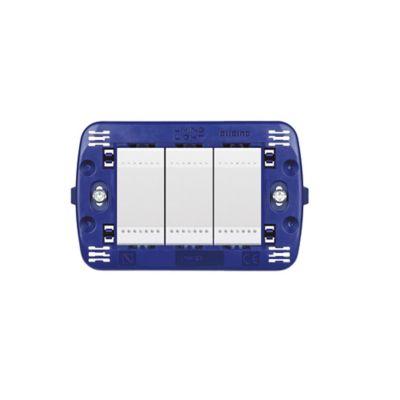 Interruptor triple conmutador luz piloto light