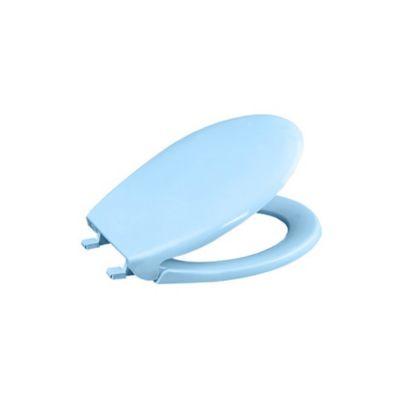 Asiento Sanitario Aero Redondo Azul Cierre Tradicional
