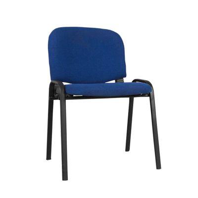 Silla interlocutora isóceles azul