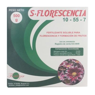 S-Florescencia 10-55-7 500 gr