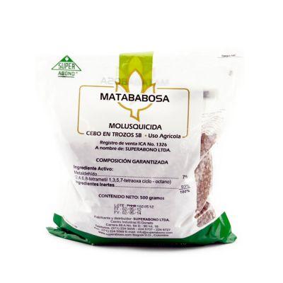 Matababosas 500 gramos tóxico IV