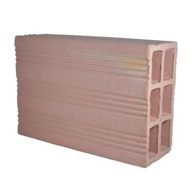 1/2 bloque #5 estándar 12 cm ancho x 20 cm largo x 15 cm alto 3 kilos 31u/m2