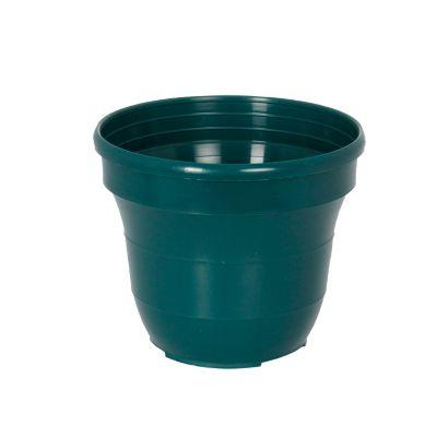 Matera plástica decorativa 23 cm verde