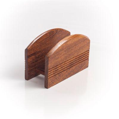 Servilletero en madera