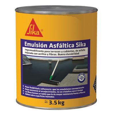 Emulsion Asfáltica Sika 3.5kg 1gl