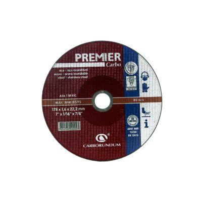 Disco abrasivo corte acero 7 x 1/16 pulgada 66252834639