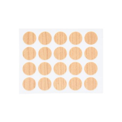 Tapatornillos Adhesivos 20und Pino