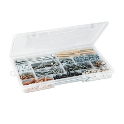 Caja Con Divisiones 38x4,5x23 cm Transparente