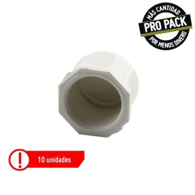 Tapón Soldado 1/2 Presión Propack 10 und
