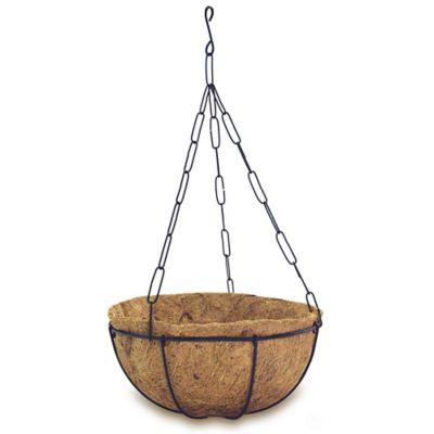 Canasta sencilla con cadena y capacho coco #5