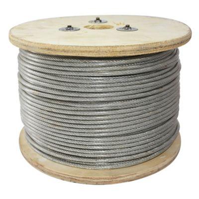 Cable acero plastificado 1/8 pulgada (0,3 cm de ancho)