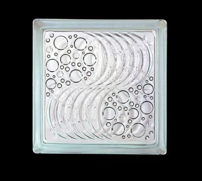Bloque de Vidrio 19 x 19 x 8 cm