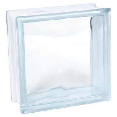 Bloque de Vidrio 19x19x8 cm - Transparente