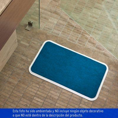 Tapete para Baño 54x33 cm Azul