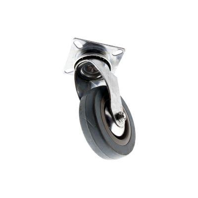 Rodachina rlp giratorio gris 4 pulgadas (10 cm diámetro)