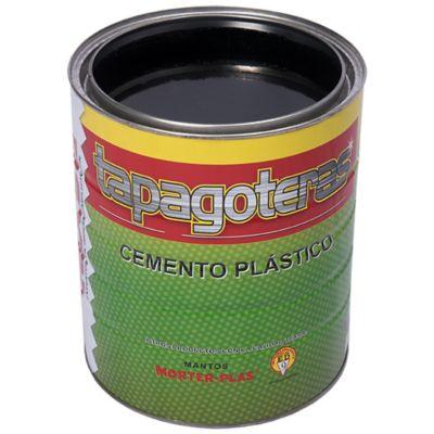 CEMENTO PLÁSTICO IMPERMEABILIZANTE TAPAGOTERAS - 1/4gl - impermeabilización y reparación de humedad