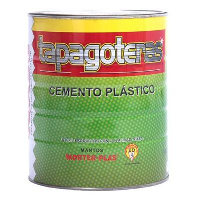 Cemento Plástico Tapagoteras 1 Galón 4.4 Kilos