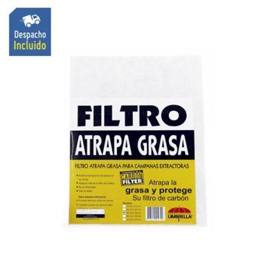 Repuesto Filtro Para Campana Atrapagrasa Sin Marco 55x35