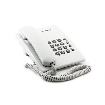 Teléfono Alámbrico Escritorio Básico Blanco KX-TS500LX1W