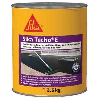 Emulsión Asfáltica Sika Techo E 3.5kg