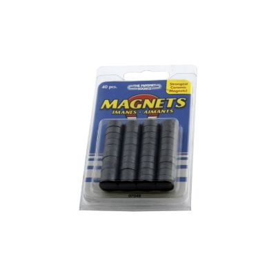 Disco Magnético 1/2pg - 12mm 40und