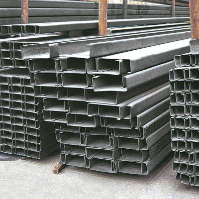 Perfil C GR36 120 x 50 x 1.5mm x 6m negro