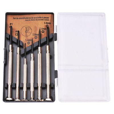 Juego destornilladores precisión 6 piezas CPP067D
