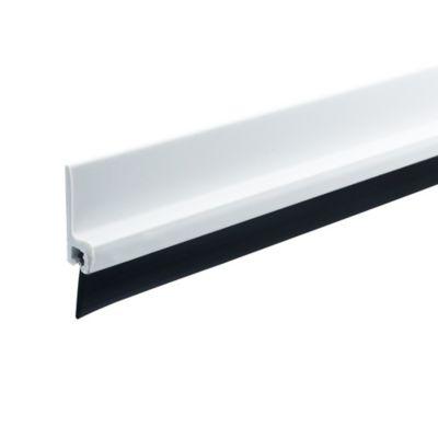 Bajo Puerta con Perfil PVC Blanco
