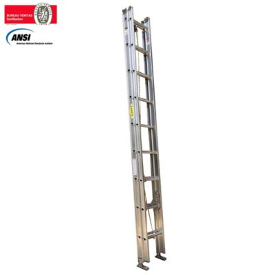 Alquiler Escalera de Extension en Aluminio 18 Pasos 3.0 a 6mt Resistencia 136kg