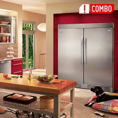 Refrigerador Twin Gallery 538Lts FGRU + Congelador Twin Gallery  538Lts FGFU19F