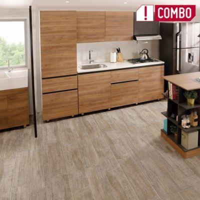 Proyecto Cocina Soho 1.80 Izquierdo + Mueble Alacena Soho