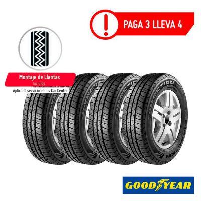 Combo Llanta 185/60 Rin 14 Direction Sport 82H Paga 3 Lleva 4