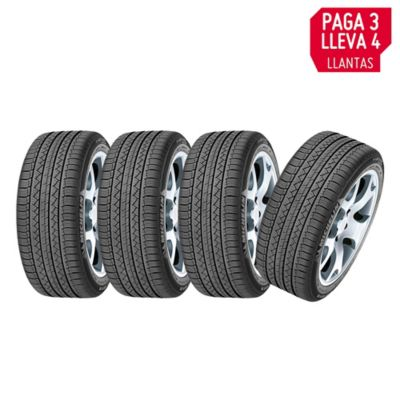 Combo Llanta 215/65R16 Latitude Tour Hp Pague 3 Lleve 4
