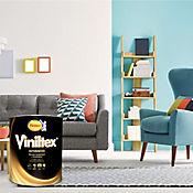 Viniltex Blanco 1 Galón Paredes/Muros Interior y Exterior
