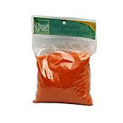 Arena decorativa naranja x 500 gramos