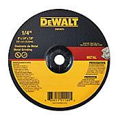 Disco Abrasivo Desbaste Metal 9 X 1/4  Ref DW44870
