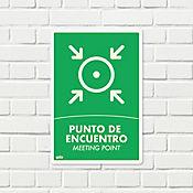 Señal Punto de Encuentro FotoL. 22x15cm