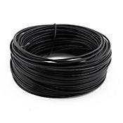 Cable #10 1 metro negro Conectores y Cables