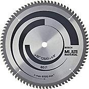 Disco aluminio 10 x 5/8 pulgadas 80 dientes multimaterial 2608640966