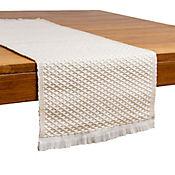 Camino de mesa telar panal 100 x 33 cm