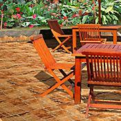 Piso Cerámico Córdoba 45.8x45.8 cm Caja 1.89 m2 Rojo
