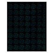 Piso prisma negro pvc comercial moderado 1,40m2