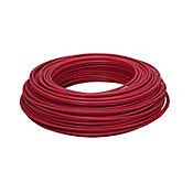Alambre #12 100m Color Rojo