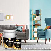 Pintura Viniltex Blanco 5 Galones Gratis 1 Galón Interior y Exterior