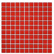 Cristanac Cerámico Cristal 29.4x29.4 Centímetros Rojo