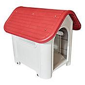 Casa Para Perro Plástica 75 X 59 X 66 Cm