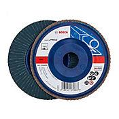 Disco flap 7 pulgadas (17,7 cm ancho) granos 120 blumetal/plástico 2608607372