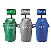 Punto Ecológico Papel Cartón No Reciclable 121 Lt