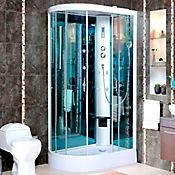 Cabina ducha 80 x120 x 212 cm 5 mm tipo f con teleducha 10 - Cabina de duchas ...